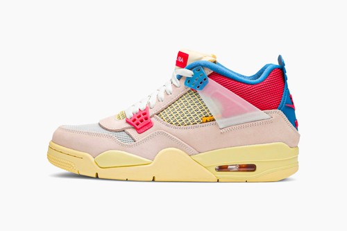 "Union x Air Jordan 4 Retro ""Guava Ice"""
