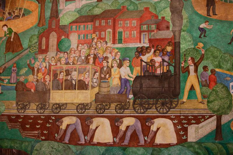 University of Kentucky Mural Lawsuit Ann Rice O'Hanlon slavery Karyn Olivier Wendell Berry
