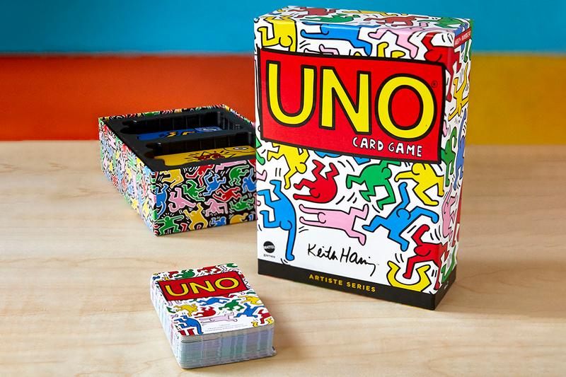 UNO Artiste Series No. 2: Keith Haring Release Information Card Game American Artist New York City Street Culture Special Edition Deck Mattel Rules Family Games LGBTQ
