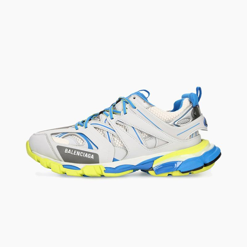 Balenciaga Track Sneaker Grey/Blue/Yellow Where to Buy