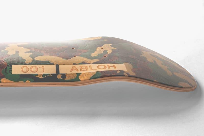 Virgil Abloh x DGK Limited Edition Skateboard Design Stevie Williams Saved by Skateboarding Organization 100 Units Art Deck Wood Numbered Engraved Release Information Closer First Look