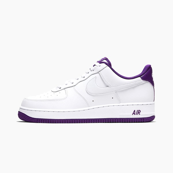 "Nike Air Force 1 '07 ""White/Voltage Purple"""