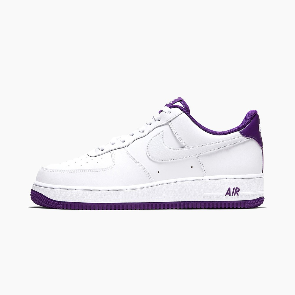 """Nike Air Force 1 '07 """"White/Voltage Purple"""" Sneaker Release Where to buy Price 2020"""