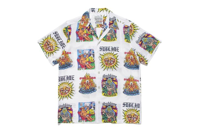 Sublime WACKO MARIA Spring Summer 2020 Capsule collection prints graphics menswear streetwear hawaiian shirts t shirts