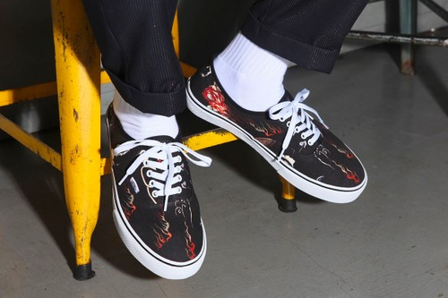 WACKO MARIA and Vans Embellish Authentics With Japanese Folklore