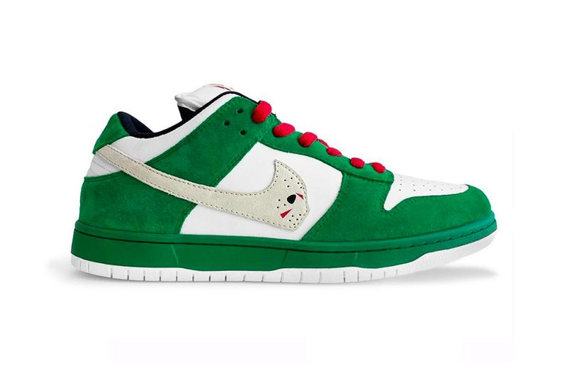 Warren Lotas Nike Dunk Low Jason Vorhees Custom Release Info friday the 13th