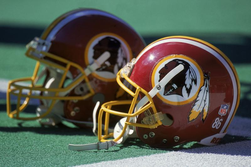 nfl washington dc redskins football team name change controversy racisim accusations info photos uniforms story