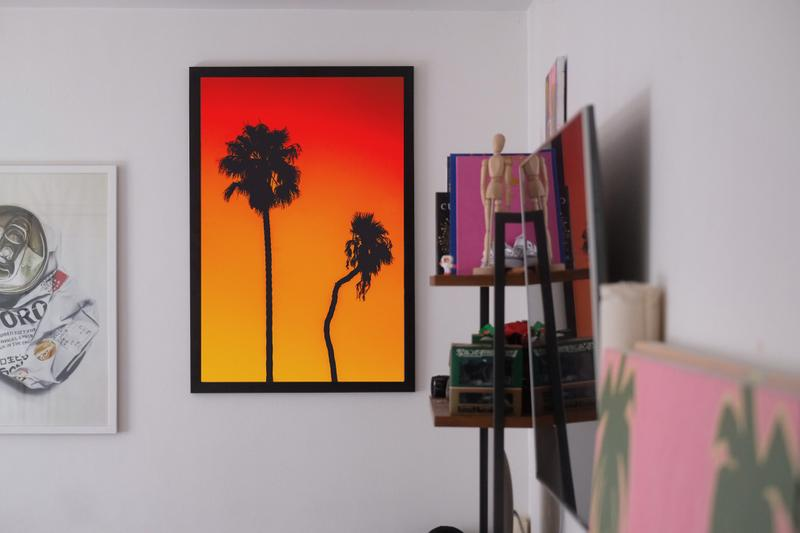Will Nichols Palm Trees and Basketball Photography Series Venice Beach Los Angeles California HYPEBEAST New Art Artwork Artworks Film Digital Clippers Sports