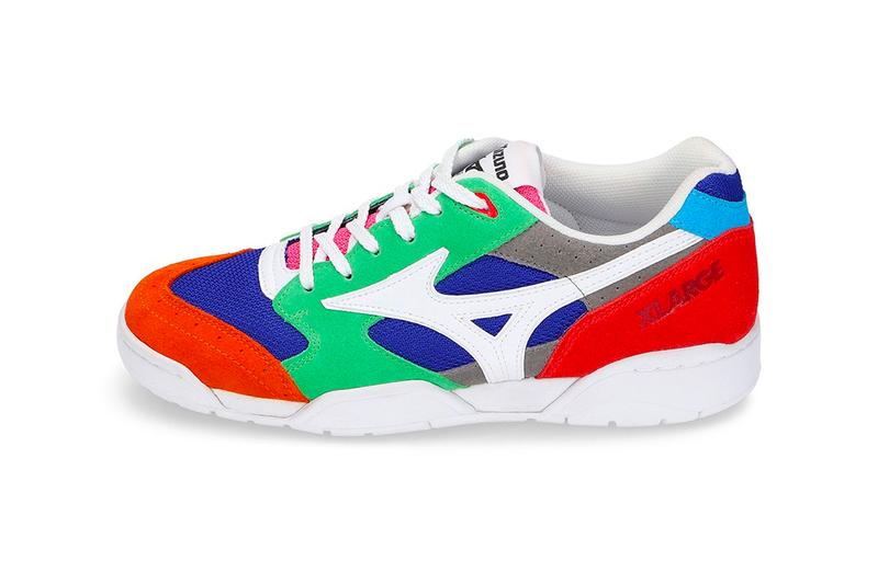 X LARGE Mizuno Court Select shoes sneakers menswear streetwear spring summer 2020 collection capsule ss20 trainers runners t shirts graphics
