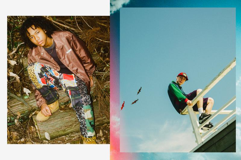 XLARGE Fall 2020 Lookbook menswear streetwear collection fw20 hypebeast japanese editorial collection graphics jackets prints t shirts shorts hoodies sweaters
