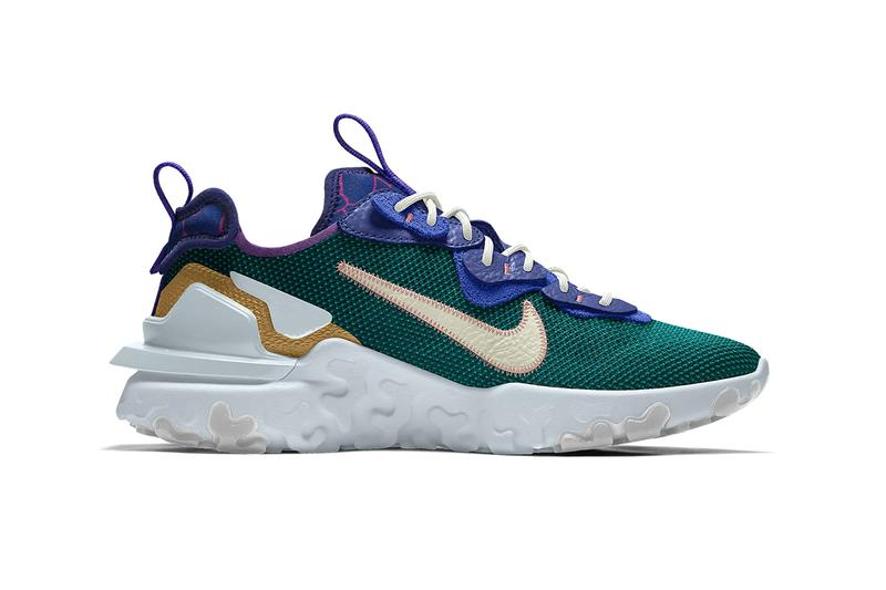 yeti out doe nike sportswear by you react vision customize personalize cu9761 991 official release date info photos price store list buying guide