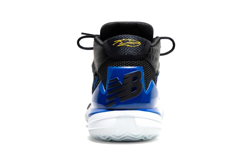 new balance basketball kawhi leonard four 4 bounces black blue gold 850 sandal slide apparel official release date info photos price store list buying guide
