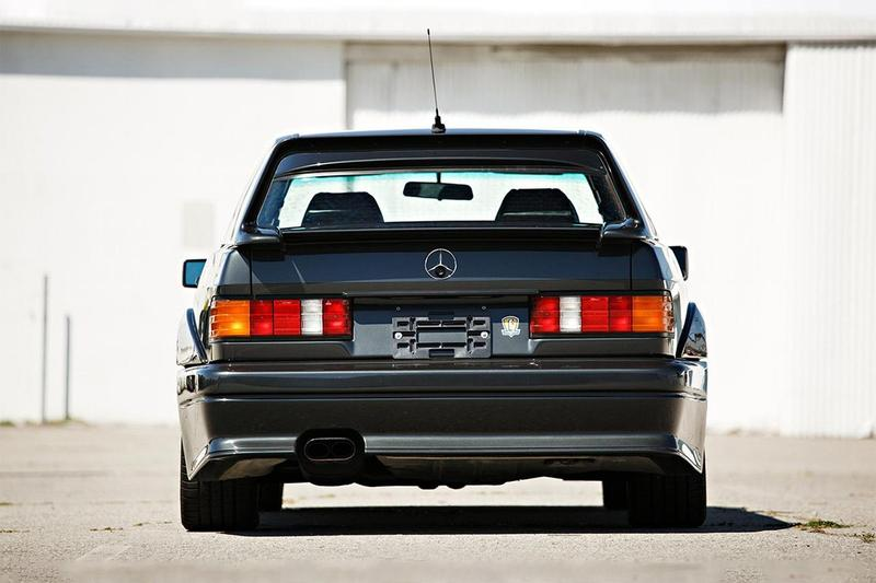 1990 Mercedes-Benz 190E 2.5-16 Evolution II Rare German Sports Saloon DTM Touring Car Family Auction Gooding & Company Closer Look Black Benz