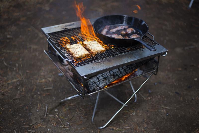Bonfire Outdoor Grill Takibi How To Snow Peak