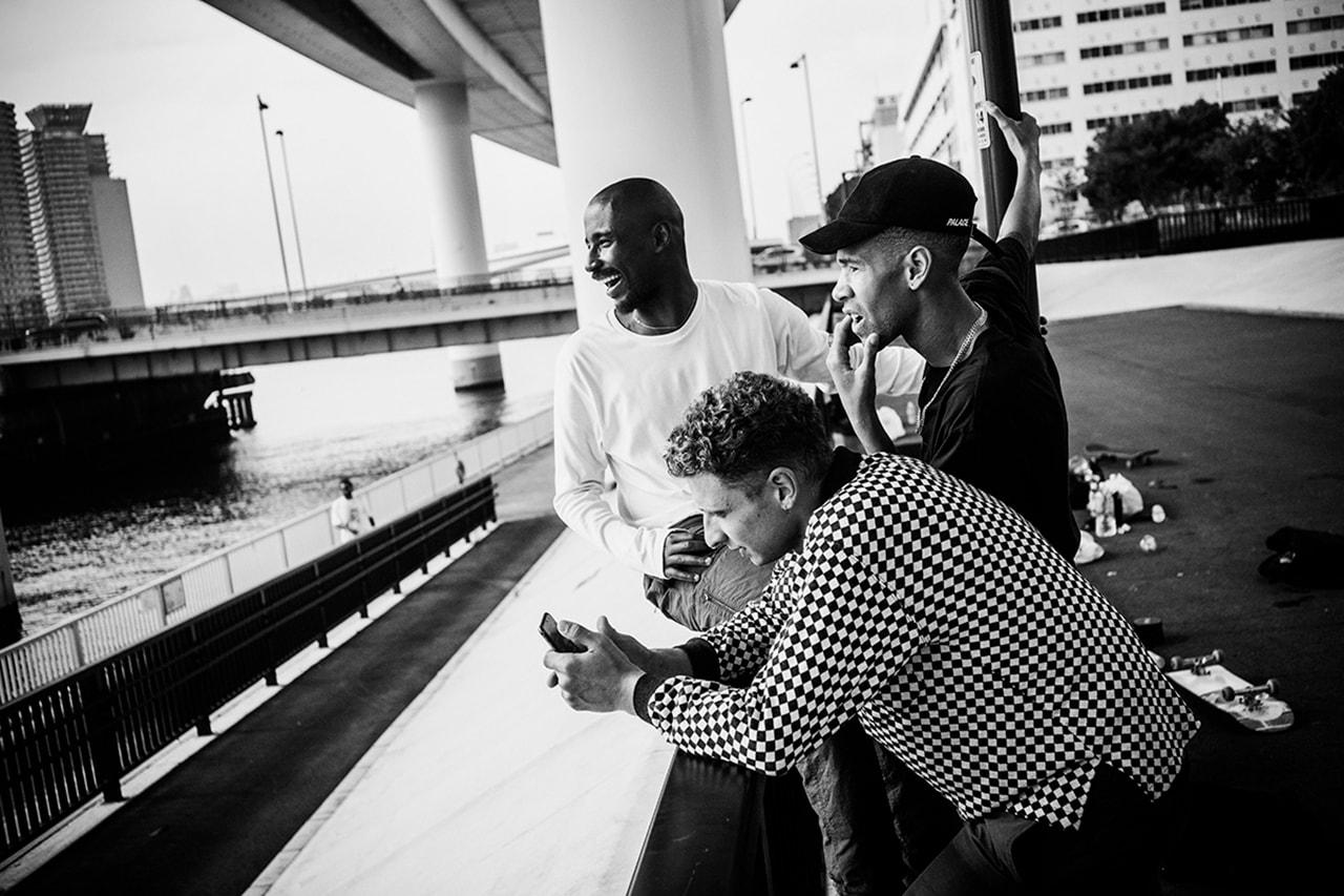 Palace Skateboarding Interview Blondey McCoy Lucien Clarke London Collaboration Details Drop