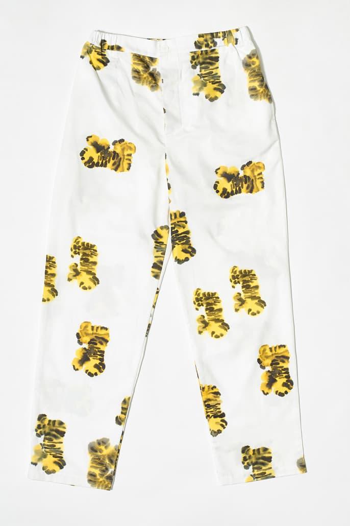 "Rop van Mierlo x Wild Animals ""Tiger Merch"" Collaboration collection accessories artwork"