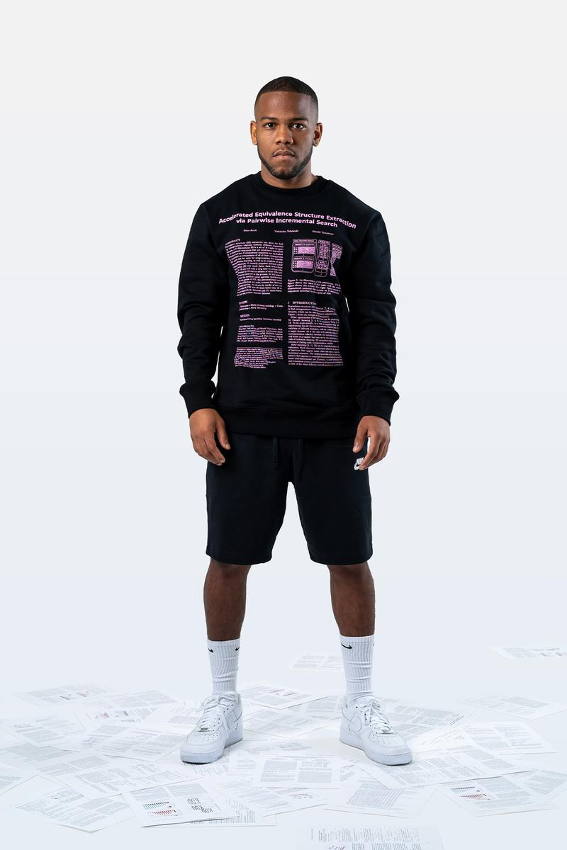 Japanese Brand SEAN LEVITT Unveils Physics-Inspired Capsule Collection Streetwear Fashion Graphics