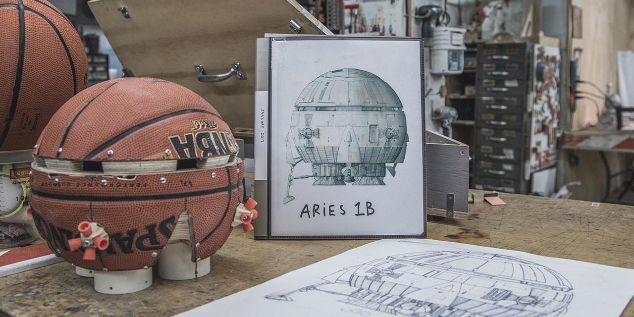 Tom Sachs Studio Visit Nasa Nike Craft Mars Yard Shoes Mission Control