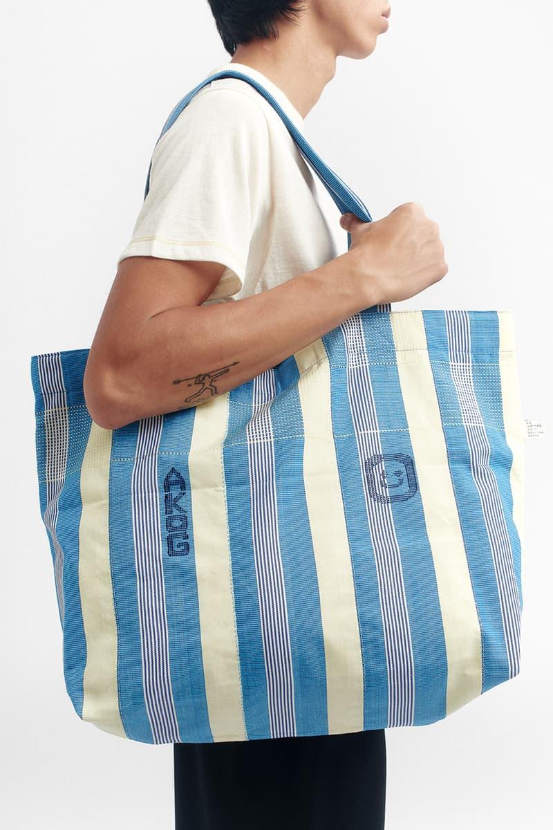 A Kind of Guise Ghana Kente Cloth beach bags