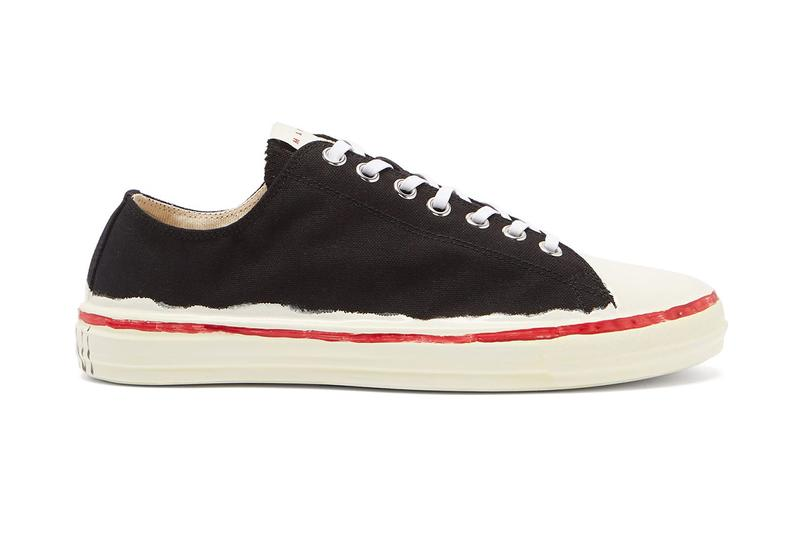 Marni Painted Canvas Sneakers Drop Release Info
