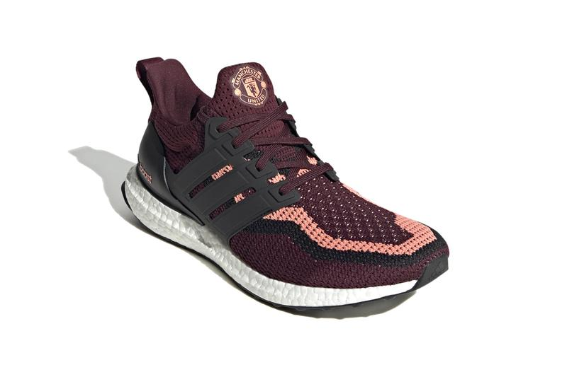 adidas manchester united english premier league football soccer ultraboost dna sneaker runners shoes