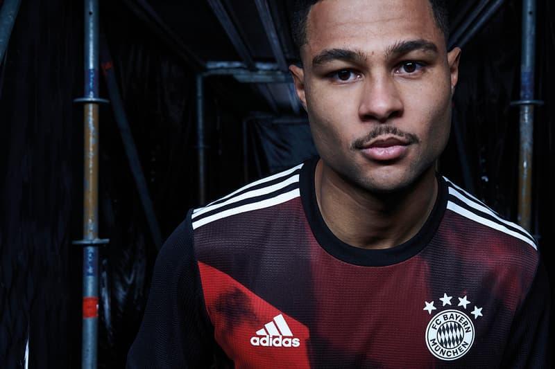 fc bayern munich adidas football soccer germany champions league third kit buy cop purchse alaba gnabry pavard details