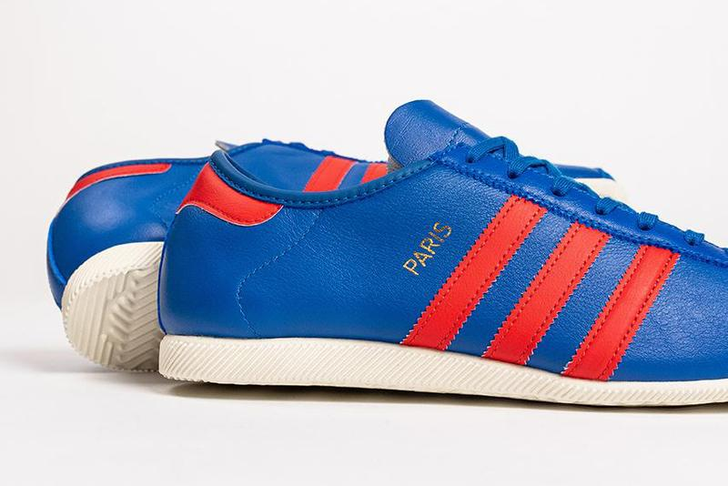 adidas Originals City Series Japan 1964 Olympics Paris 1970s Classic Sneaker Release Information Closer Look Drop Date OG Three Stripes Footwear Kangaroo Leather Trefoil