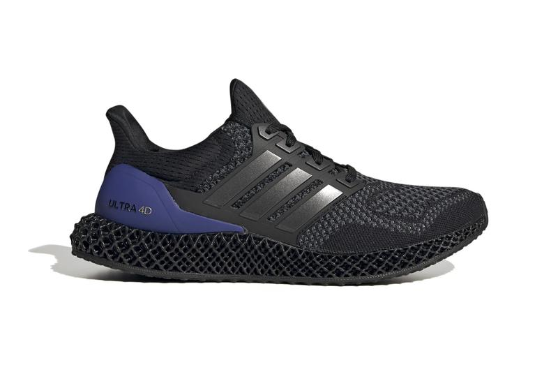 adidas Ultra4D Core Black Release FW7089 Gold Metallic Info Buy Price FUTURECRAFT 4D cushioning system