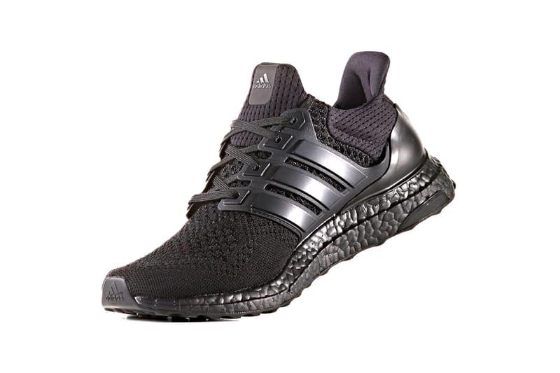 "adidas UltraBOOST 1.0 ""Core Black"" LTD Returning Release Information Drop Date Triple Black ""Triple White"" Kanye West Sneakers Hype BOOST Tech Three Stripes YEEZY Primeknit Stretchweb Continental"