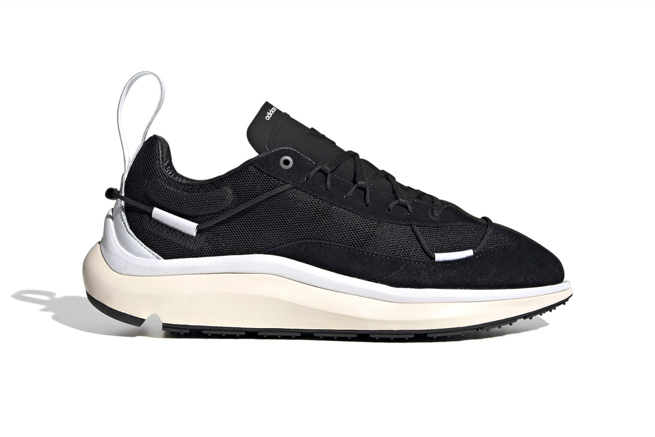 y-3 shiku run black white red signal cyan blue release information buy cop purchase details Aphrodite mesh leather suede