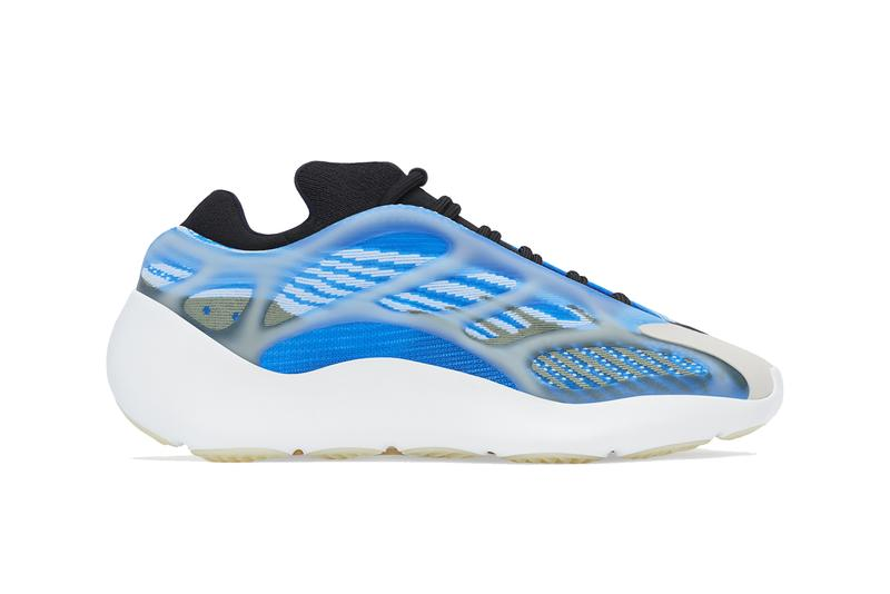 kanye west adidas yeezy 700 v3 Arzareth white blue black G54850 official release date info photos price store raffle list buying guide