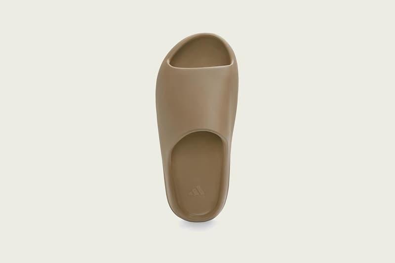 "adidas YEEZY SLIDE ""Soot"" ""Core"" Release Information Drop Date Kanye West Hanon Sandals Footwear Summer 2020 Ye G55495 g55492 EVA Injected Foam At Home"