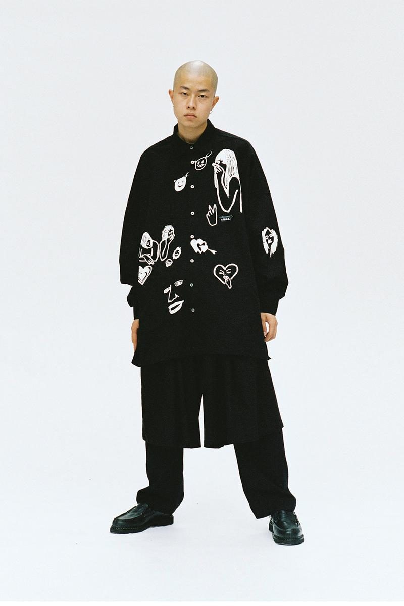Ajobyajo Fall Winter 2020 Lookbook menswear streetwear fw20 collection Your Mistake is My Future jackets t shirts hoodies pants denim trousers graphics