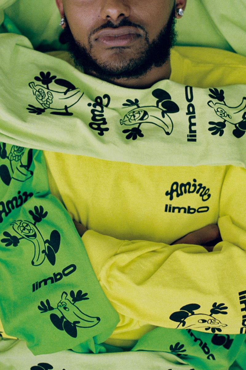 Aminé VERDY Limbo Collection lookbook release info good for you long sleeve t shirt short sleeve bandana cup