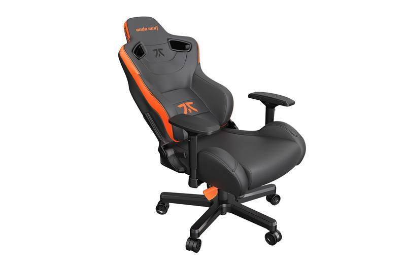 Andaseat Fnatic Edition Premium Gaming Chair Release Info Buy Price Black Orange