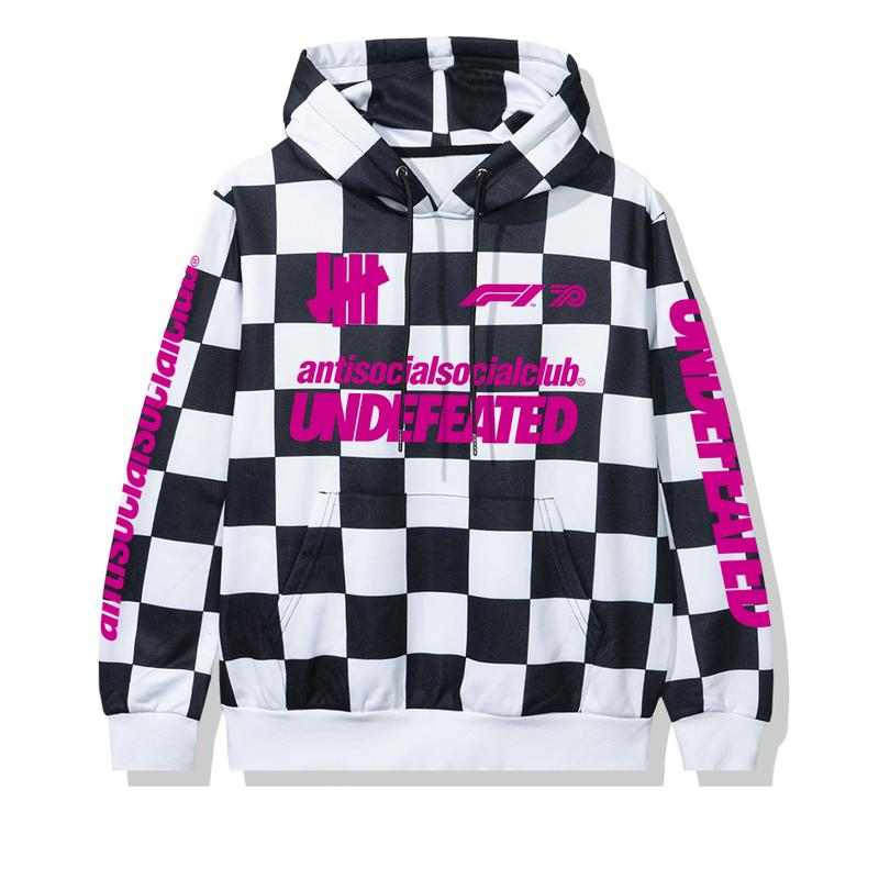 Anti Social Social Club x Undefeated x Formula 1 collaboration capsule collection 70th anniversary
