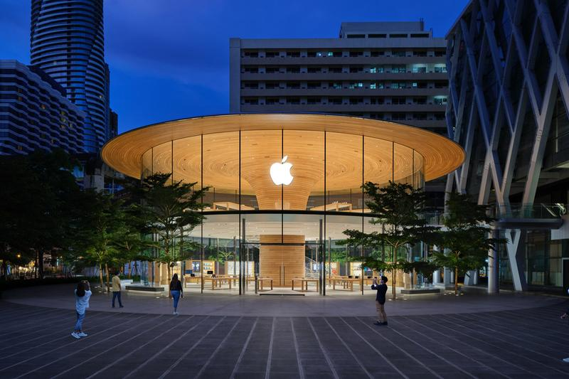 apple store central world opening preview bangkok thailand Ratchaprasong