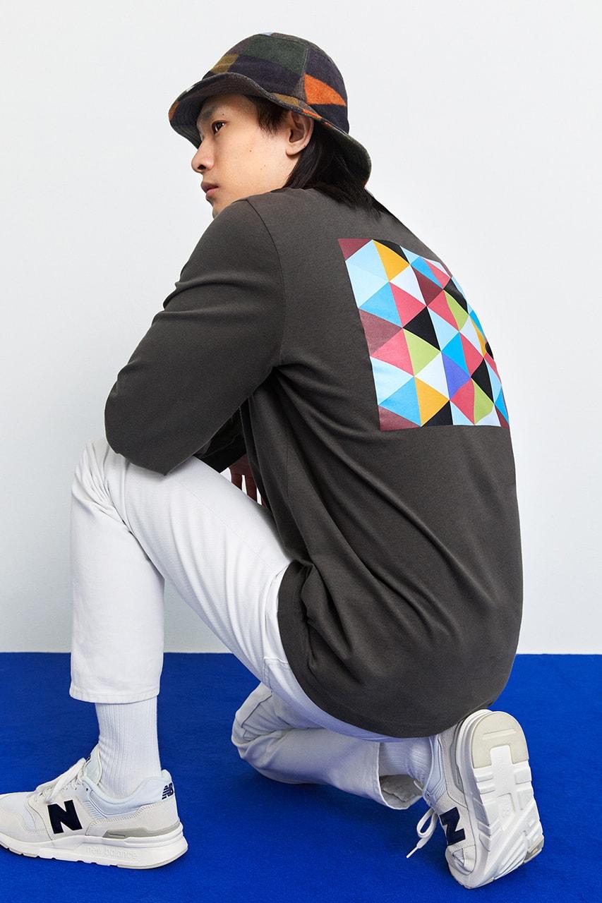 arket kg Nilson artist Swedish H&M colours capsule collection release info menswear womenswear
