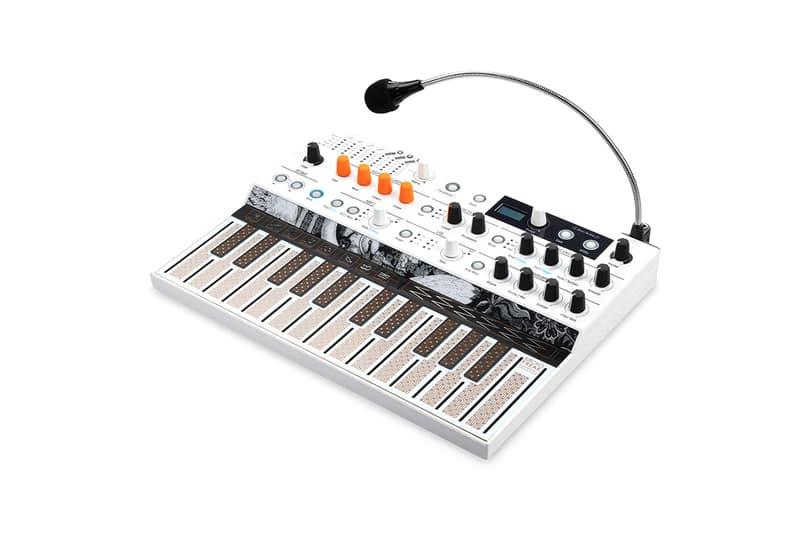 Arturia MicroFreak Vocoder Edition Music Technology Vocaliser Manipulation Synths Sounds Voice Transformation Data Compression Updates Software Hardware Swan Neck Microphone Tech