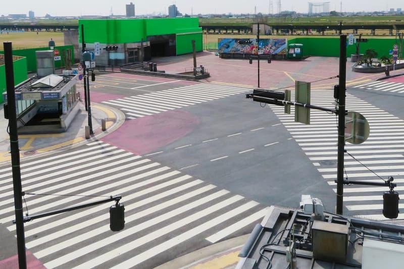 replika shibuya crossing kini hadir di ashikaga scramble city studio
