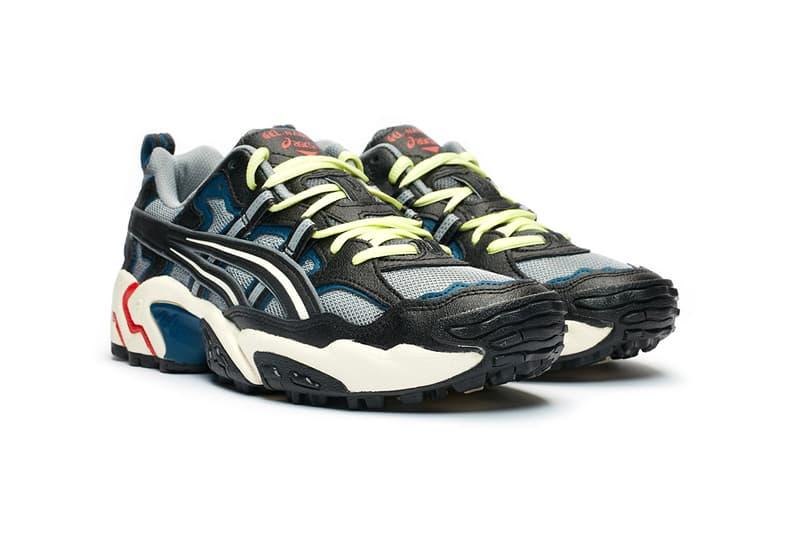 """ASICS GEL-Nandi OG """"Sheet Rock/Black"""" 1021a315-022 Sneaker Release Information Footwear Drop Date Closer Look adidas YEEZY 700 V1 OG Wave Runner"""