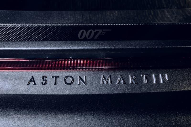 "Aston Martin Vantage 007 'James Bond: No Time to Die' DBS Superleggera Special Limited Edition British Automotive Engineering Supercars V8 ""Cumberland Grey"" Daniel Craig"