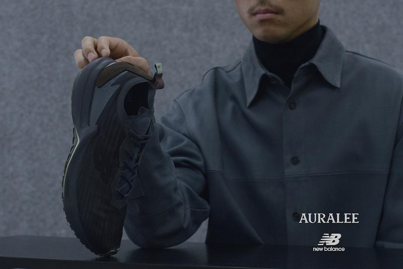 AURALEE x New Balance FuelCell Speedrift Collaboration sneaker japan release date info buy august 15 2020 colorway MSPDRAG (LIME YELLOW) / MSBDRAB (CHARCOAL)