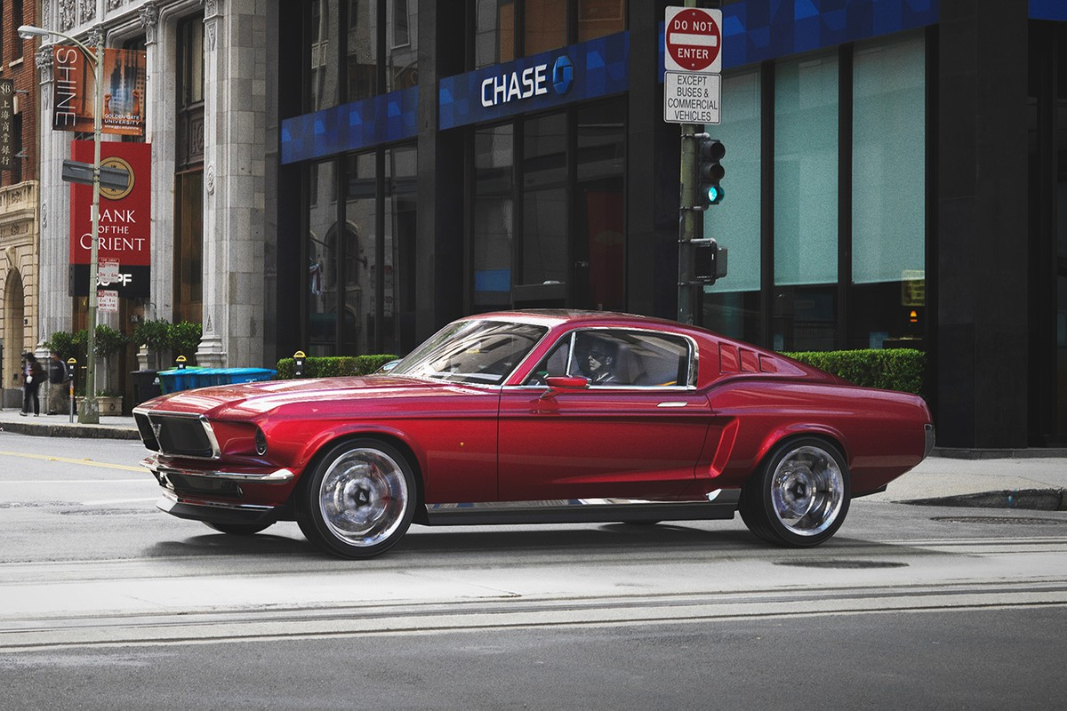 The Aviar R67 Is What Happens When You Fuse a '67 Mustang With a Tesla Model S