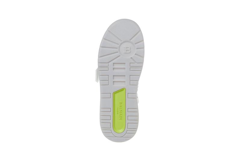 Balmain basketball b ball sneaker aphrodite buy cop purchase white release information details UM1C230LCTW OFA