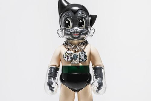 Billionaire Boys Club Taps SECRET BASE For Limited Edition Astro Boy Figure
