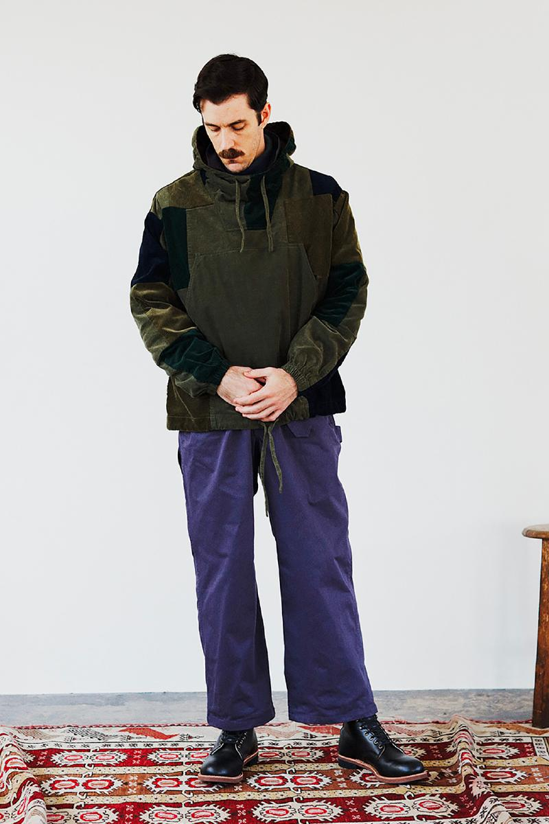 BEAMS Plus Fall Winter 2020 Lookbook collection fw20 menswear streetwear japanese coats jackets pants slacks khaki sartorial classic