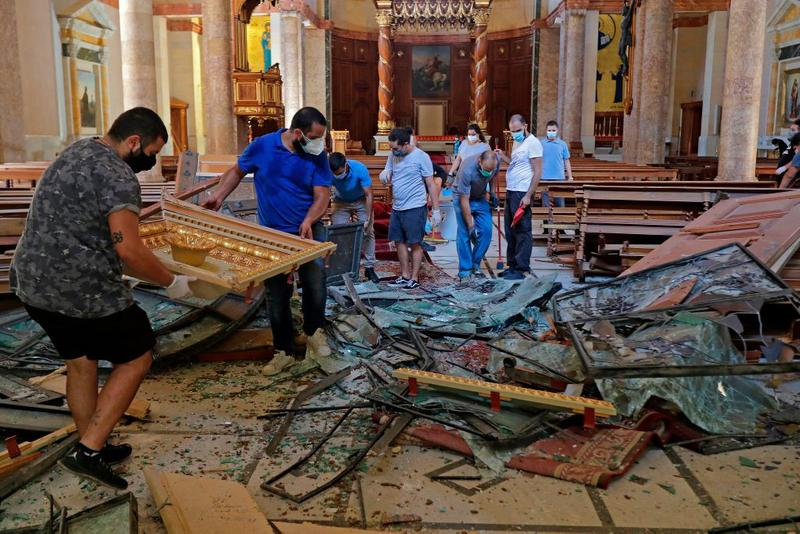 beirut explosions galleries art spaces museums