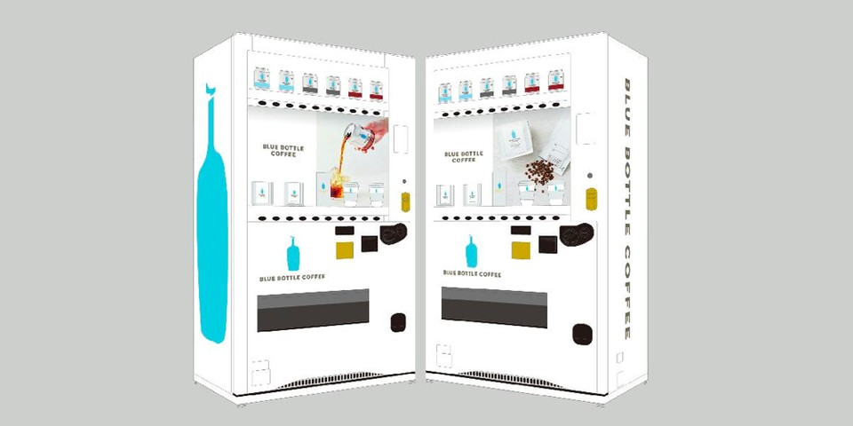 Blue Bottle Coffee Puts up Special Vending Machine in Tokyo