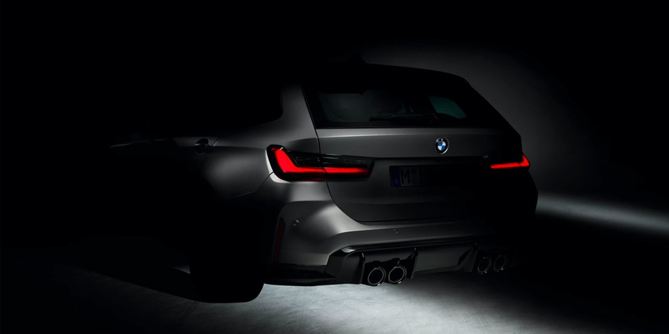 BMW Teases Its First-Ever M3 Touring Wagon